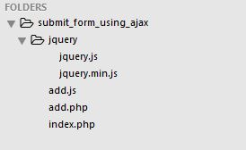 submit_form_using_ajax_file_structure